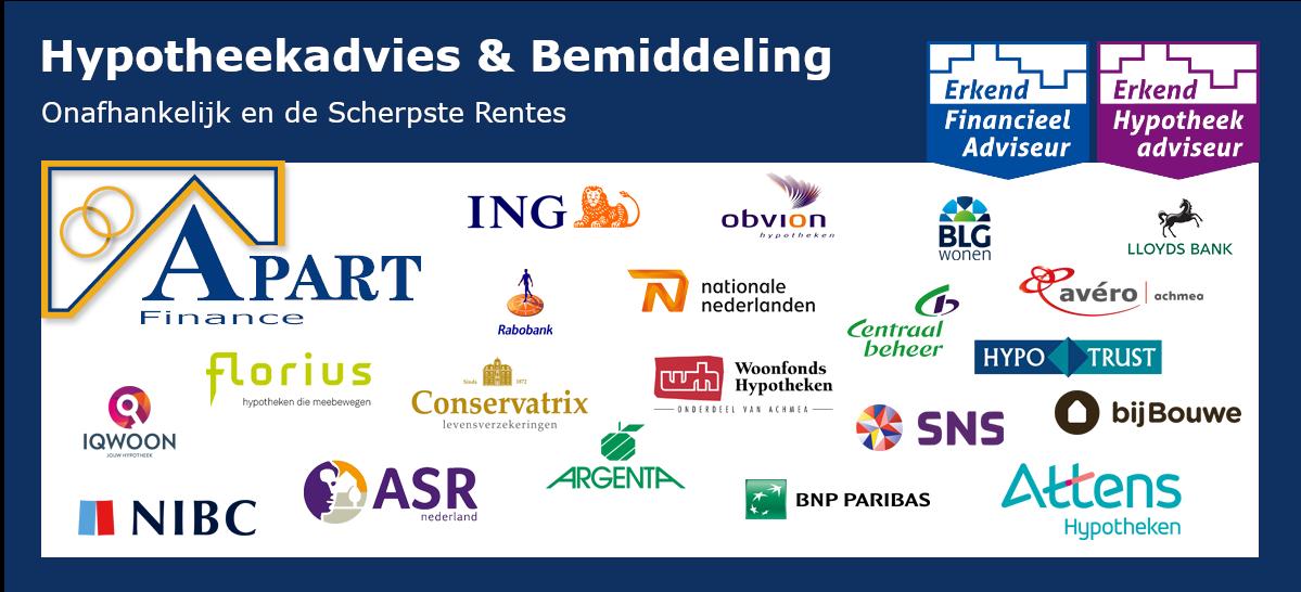 Hypotheekadvies & Bemiddeling Apart Finace